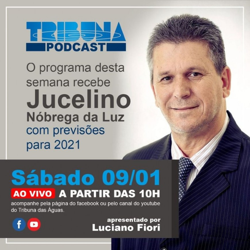 TRIBUNA PODCAST, O NOVO PROGRAMA DO JORNAL TRIBUNA DAS AGUAS.